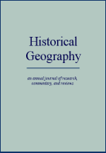Historical Geography cover
